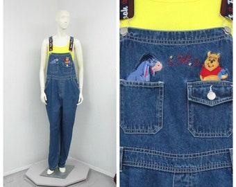 fed92e07124 90s disney overalls | Etsy