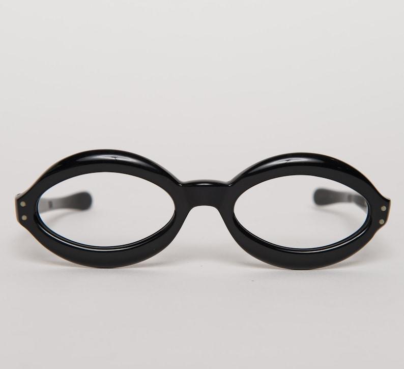SALE black midcentury mod frames vintage 1960s \u2022 Revival Vintage Boutique