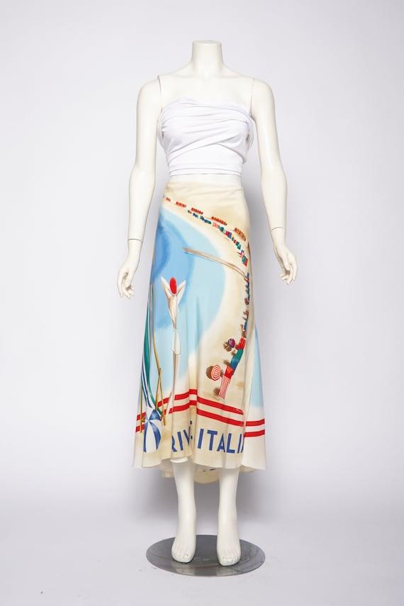 Ralph Lauren CP-93 Riviera skirt vintage 1990s • R