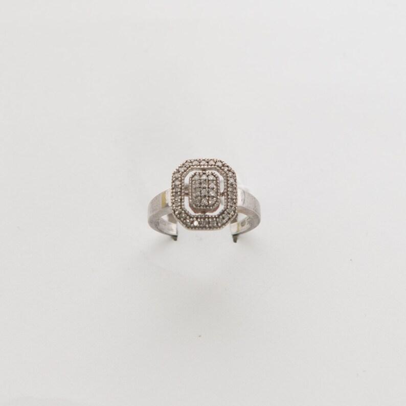 SALE diamonds sterling silver vintage 1990s \u2022 Revival Vintage Boutique