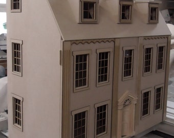The Eaton House   6 rooms    Georgian design   Kit    BY DHD   1:12th scale