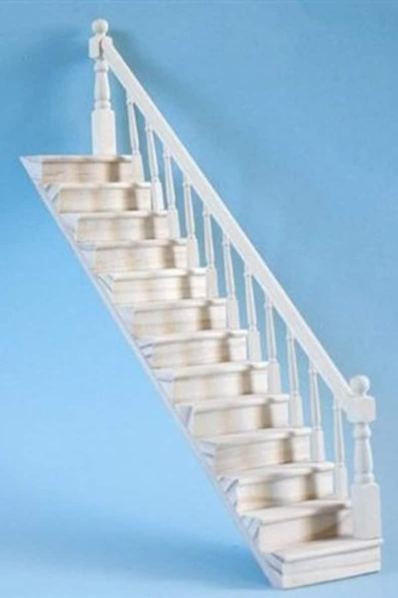 complete Stair Kits, barewood - Interchangeable Left or Right Hand Rail CA12