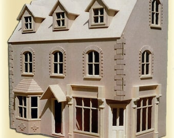 1/12th Dolls House Corner Shop/Pub with 5 rooms  Victorian Design.  in kit