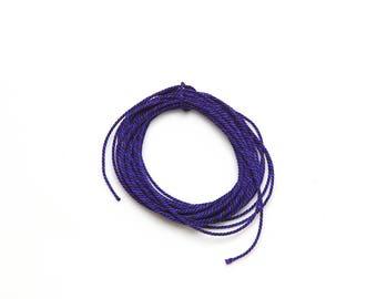 "Kumihimo Silk Cord Braiding Supply ""KUMIHIMONOIRO"" Mitsuyori String No.7 (3001459)"