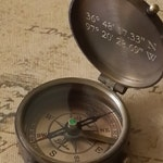 compass, engraved compass, personalized compass, working compass, gift for men, anniversary gifts for men, fathers day gift, valentines day