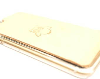Leather iPhone 7 Plus Case | Cute Owl