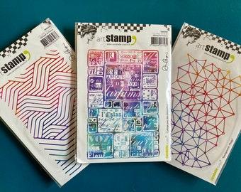 Carabelle Studio SED0030 Carabella Studio Cling Stamp Edge 2X11.5-Washi Tape-Graphisme #1