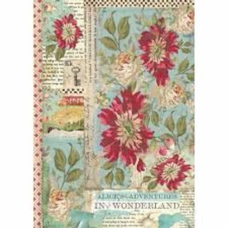Rice Paper for Decoupage Scrapbooking Sheet Old Pictures Teen Girls 2