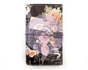 "Vintage Floral Travelers Journal by Prima Marketing, 5 x 7.5"" Personal Size"