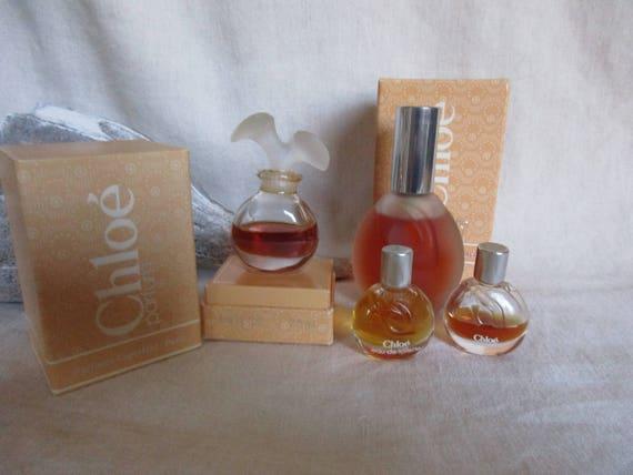 Vintage Chloe Perfume Etsy