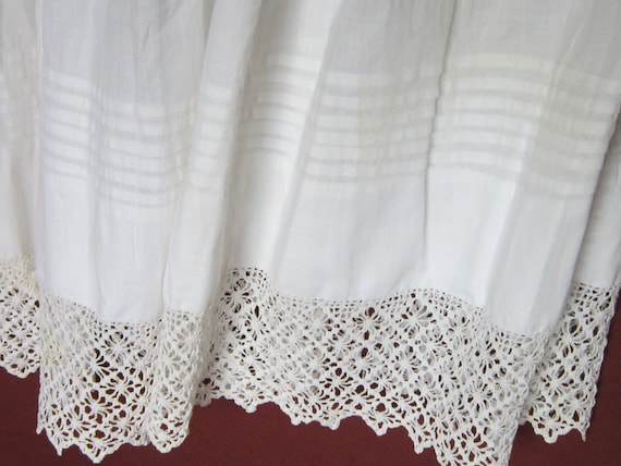 VICTORIAN LACE and FLANNEL Skirt