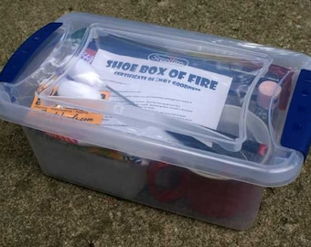 ShoeBox of Fire, Beginner Kit w/ Fire Wands, Cups, Fuel Pot and More!