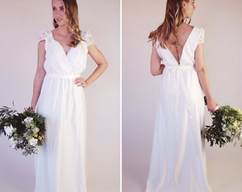 d0a8257f75f Romantic bohemian bridal wear handmade in by ThisModernLoveBridal