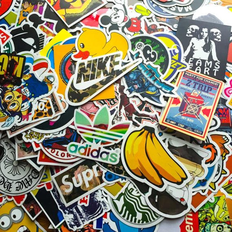 Sticker-Bombing Sticker Pack image 0