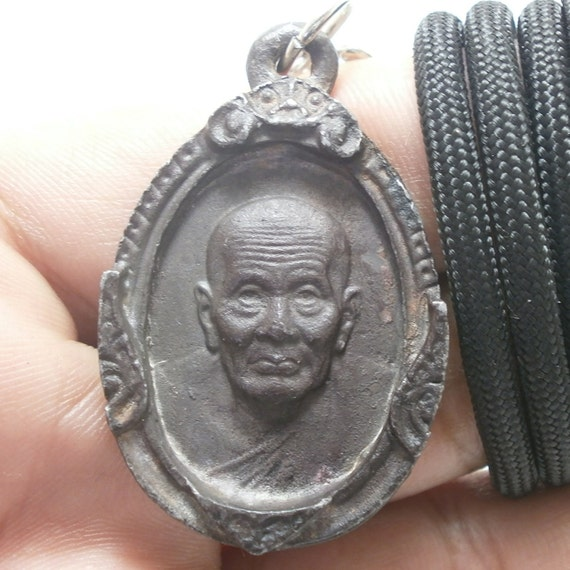 Thai Buddha amulet pendant lp tuad thuad Langkasuga legend  228c918ffe2f