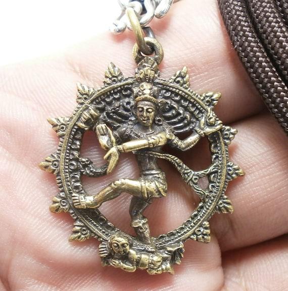 Shiva Nataraja, hinduism shiva gods pendant Nataraja necklace,Hindu Necklace