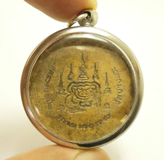 Tiger Jewelry Amulet Magic Yantra Tiger Lp Pern Wat Bang Phra Powerful Thai Buddha Wealth Amulet