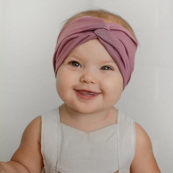 Kids Headband Kids Turban headband mauve fall baby  2cc5212d8b3