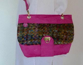 Vegan bag Shoulder bag gift for women Cross body bag wife Gift for her Girlfriend gift for Sister Birthday gift for mom Best friend gift