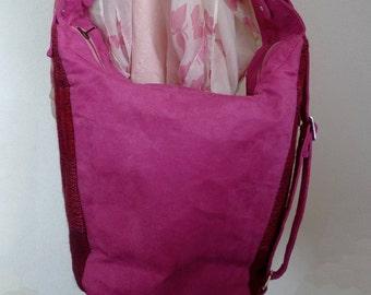 Vegan bag Cross body bag Shoulder bag Convertible backpack Girlfriend Gift for women Gift for her Wife Gift for mom Best friend gift