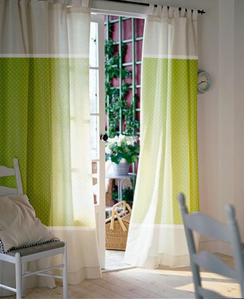 Grüne Fenster Gardinen Kinderzimmer Vorhänge Kids-Vorhänge | Etsy