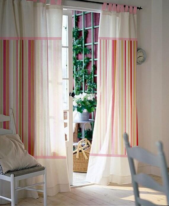 Baby Kinderzimmer Vorhange Rosa Gardinen Vorhange Kinder Etsy