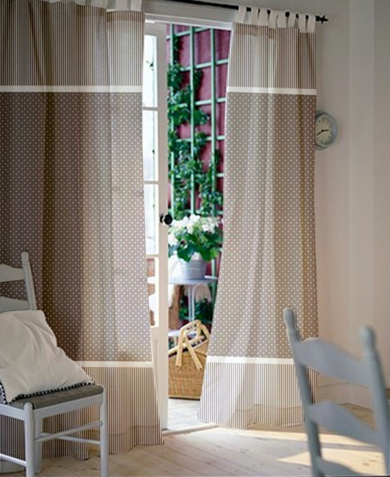 Little Room White Stripes Tab