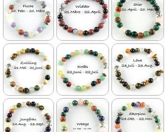 Buddha*Power Bracelet*Zodiac Sign*Gemstones*Buddha*Astrology*Horoscope*