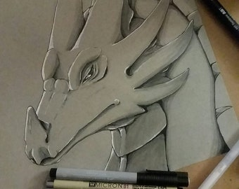 Contempt (Dragon Sketch)