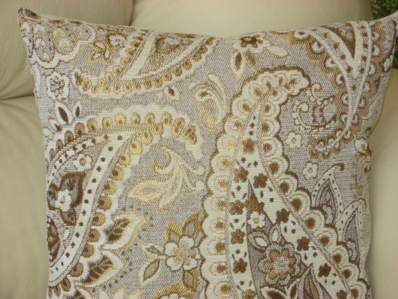 """18/"""" X 18/"""" ramo floral de flores tapiz tejido Funda De Cojín-Hecho en Reino Unido 45 X 45"""