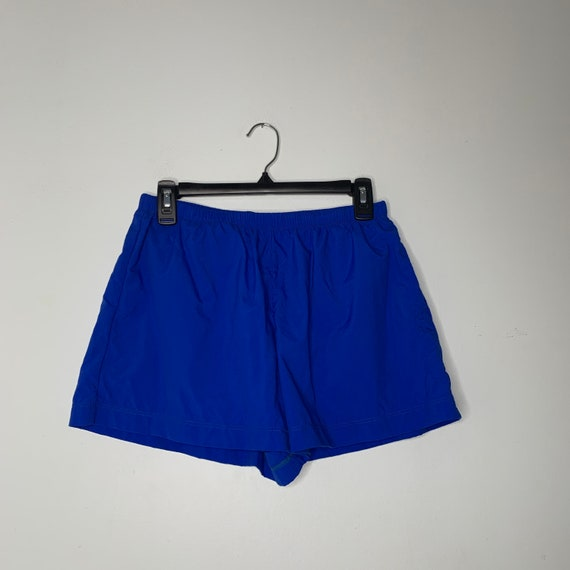 Vintage Blue Swim Trunks