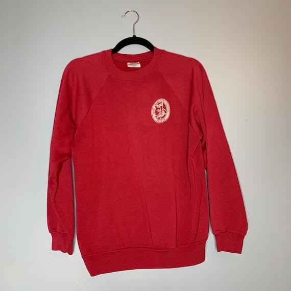 Vintage Red Saint Catherine School Saints Sweatshi