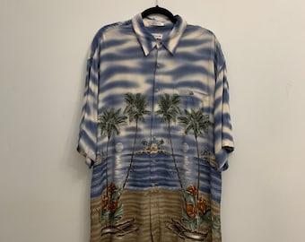 Vintage Pierre Cardin Shortsleeved Button Shirt