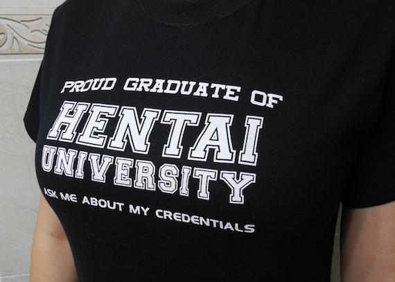 Université de Hentai T-Shirt pour hommes et femmes