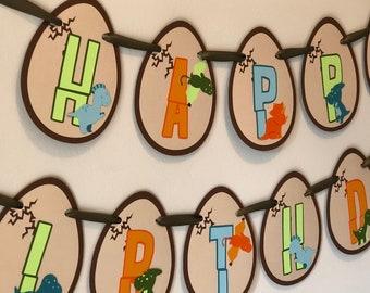 Dinosaur Birthday Banner Party Decorations Baby Little Boy