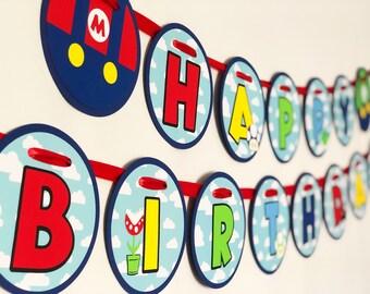 Nintendo Banner Etsy