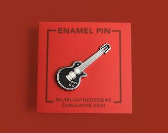 Electric Guitar Enamel Pin   Gift For Musician   Cute Pin   Guitar Gifts   Music Gift   Cute Music Art   Music Teacher Gift   Guitar Art