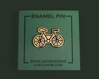 Bike Enamel Pin, Bicycle Pin, cycling pin, Portland pin, stocking stuffer, gifts for her