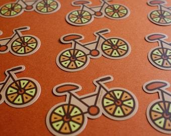 Bike Sticker - Citrus Bike Sticker - Vinyl sticker