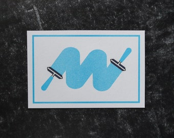Printmaking Riso print - ink roller