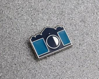 Camera Soft Enamel Pin - Canon F-1 Camera - Camera Pin