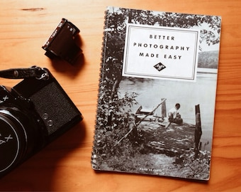 Better Photography Made Easy - Agfa Ansco Corporation Instructional Guide from 1930s
