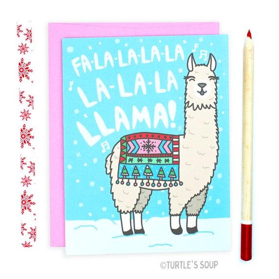 Llama Christmas.Funny Llama Christmas Card Llama Holiday Card Funny Christmas Card Funny Holiday Card Xmas Card Funny Animal Christmas Card Cute Xmas