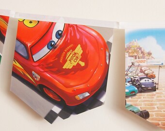 Cars story book bunting
