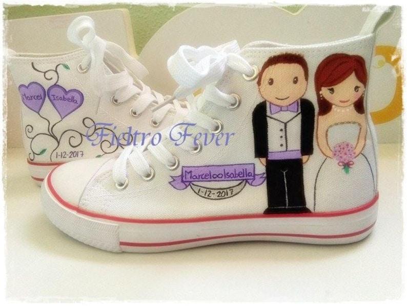 d11a092c3662 Converse sposa scarpa sposa converse matrimonio sneakers da