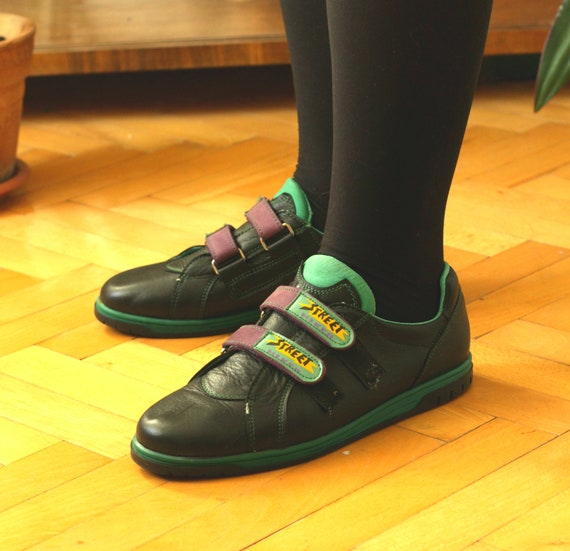 Leather Shoes~Vintage Sport Shoes~