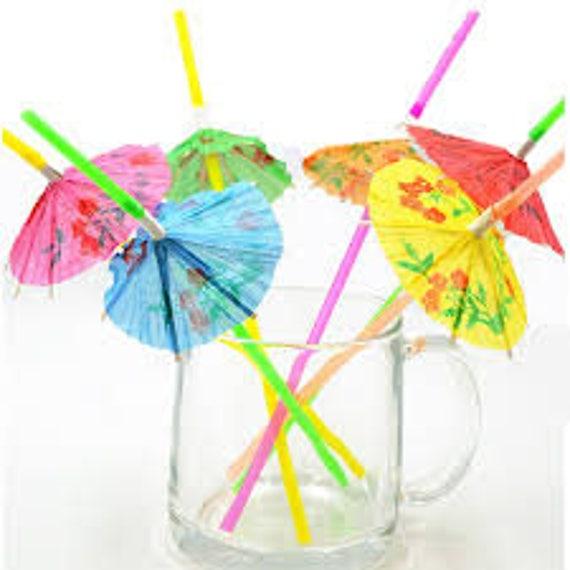 новых трубочки с зонтиками фото широко