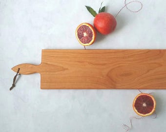 26 inch- CHERRY Cheese Board with optional engraving