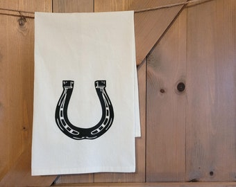 Horseshoe Kitchen Towel