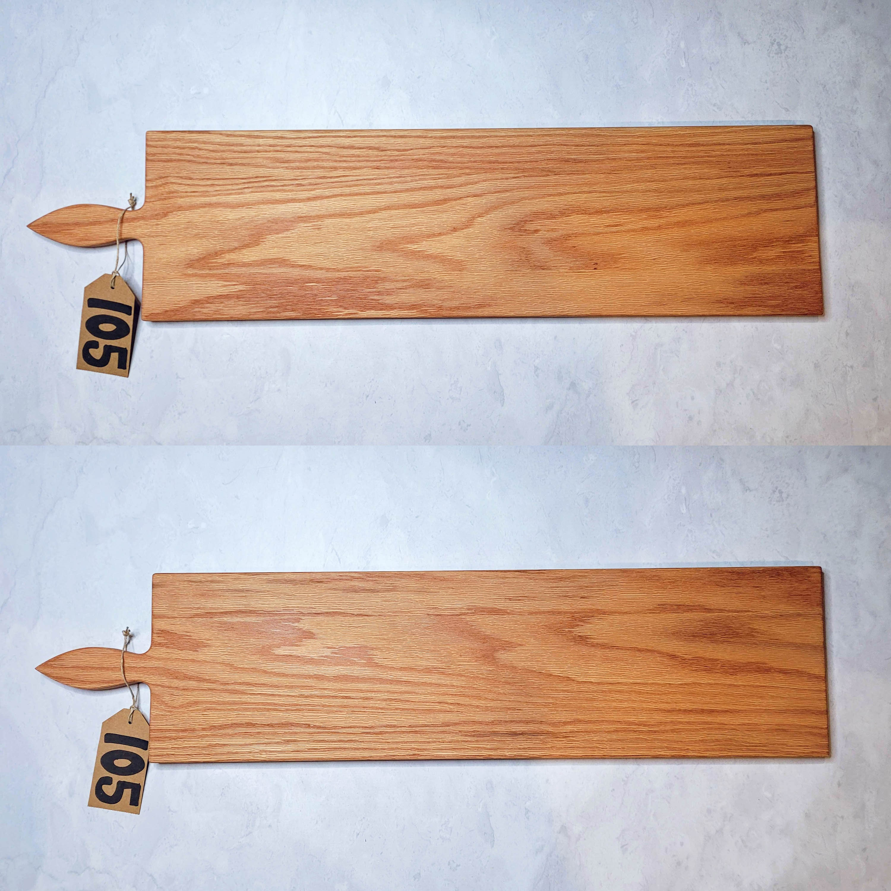 42 Inch Oak Extra Large Wooden Serving Platter Cheese Board With Optional Engraving